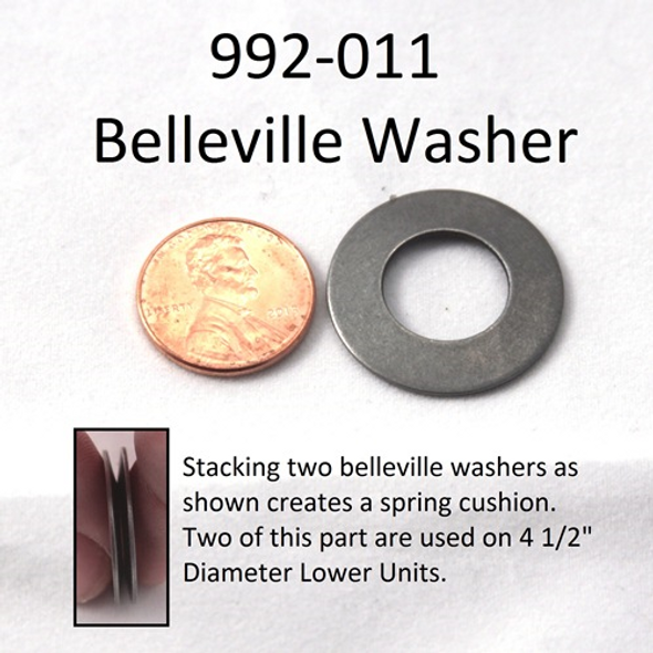 Minn Kota Trolling Motor Part - WASHER-BELLEVILLE - 992-011
