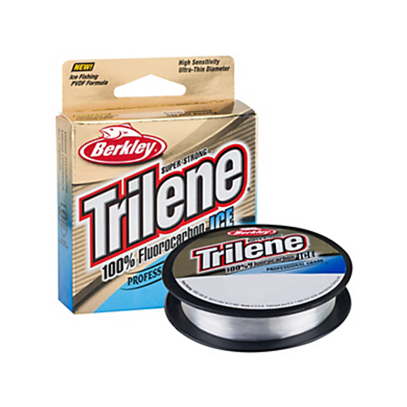 Berkley® Trilene® 100% Fluorocarbon Ice Line - 75 Yard - Clear