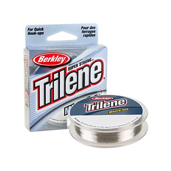 Berkley Trilene® Micro Ice® Fishing Line - 110 Yard - Clear Steel