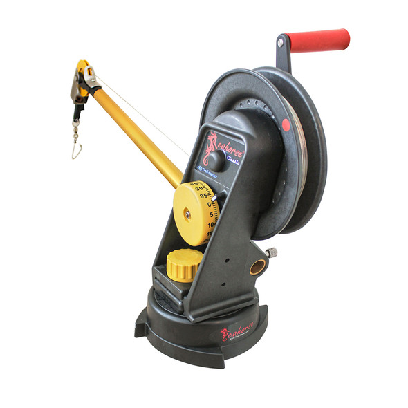 Troll-Master Seahorse® Manual Downrigger System with Swivel Base