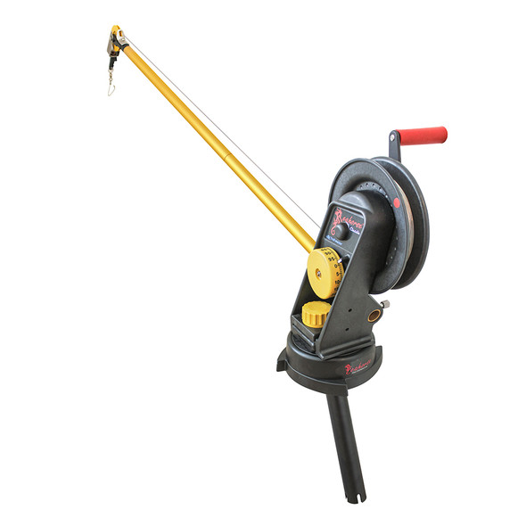 Seahorse® Manual Downrigger System with Extended Boom, Swivel Base and Gimbal Mount