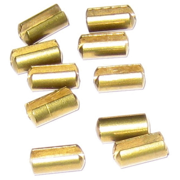 Scotty 1007 Release Clip Locators Slotted Brass - 10 Pack