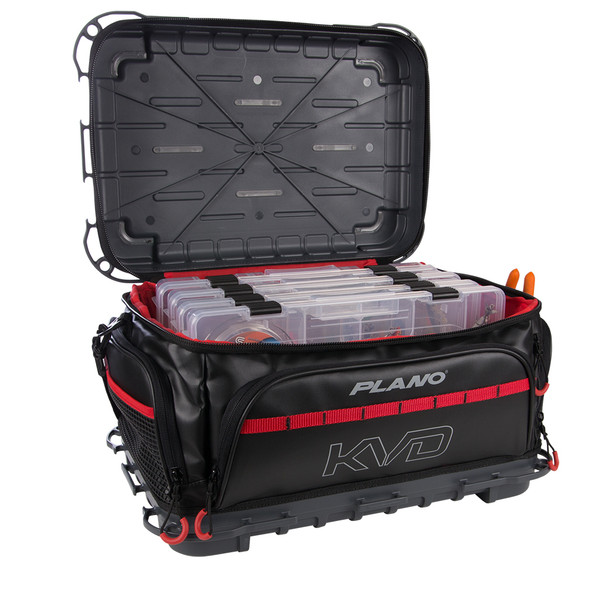 Plano KVD Signature Tackle Bag 3700 - Black\/Grey\/Red