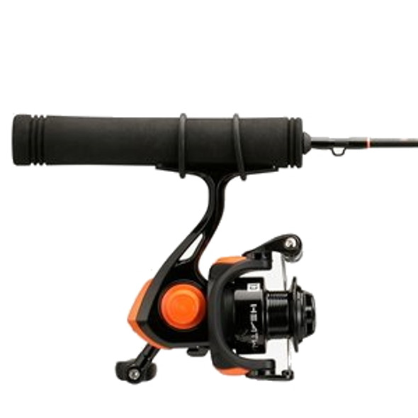 "13 Fishing - Heatwave Ice Spinning Combo  - 24"" L"