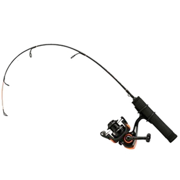 "13 Fishing - Heatwave Ice Spinning Combo  - 24"" UL"