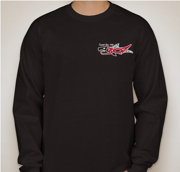 FISH307.com 2018-2019 Logo Ultra Cotton Long Sleeve T-shirt