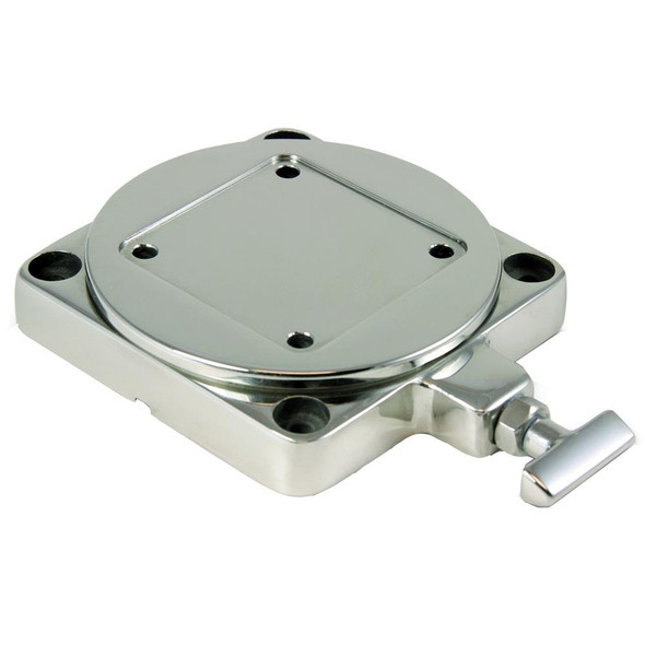 Cannon Stainless Steel Low Profile Swivel Base - 31388
