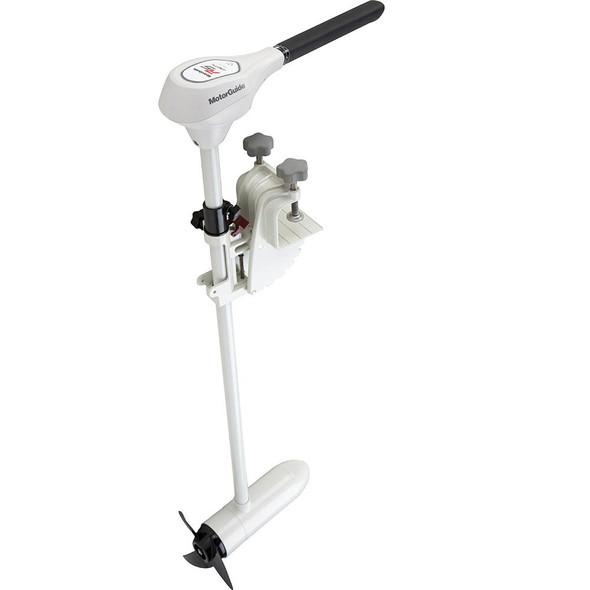 "MotorGuide R5-105SW Salt Water Digital Hand Control Transom Mount Trolling Motor - 105lb-50""-36V"