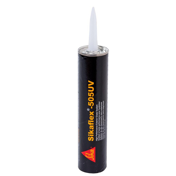 Sika Sikaflex 505UV High Performance Exterior Grade Sealant - 10.3oz(300ml) Cartridge - White