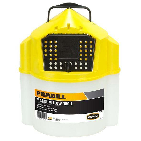 Frabill Magnum Flow Troll Bucket - 10 Quart - 71499