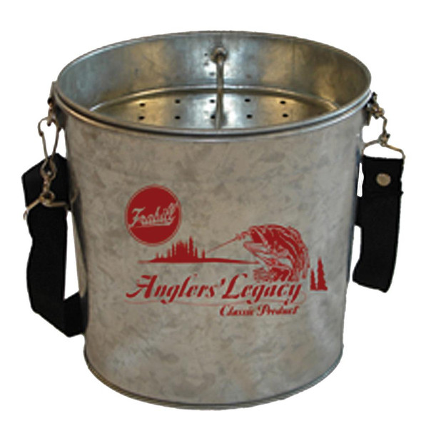 Frabill Galvanized Wade Bucket - 2 Quart - 71509