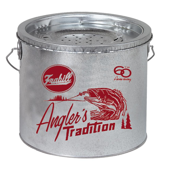 Frabill Galvanized 2-Piece Wade Floating Bucket - 8 Quart - 71510