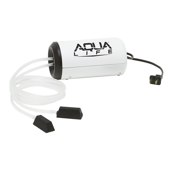 Frabill Aqua-Life Aerator Dual Output 110V Greater Than 25 Gallons - 71600