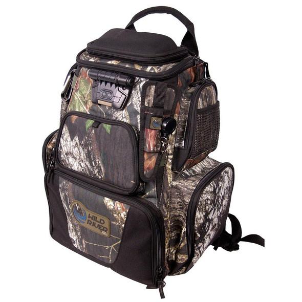 Wild River NOMAD Mossy Oak Tackle Tek Lighted Backpack w/o Trays - 48334