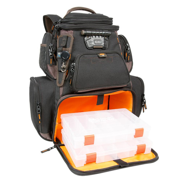Wild River Tackle Tek Nomad XP - Lighted Backpack w/ USB Charging System w/2 PT3600 Trays - 52700