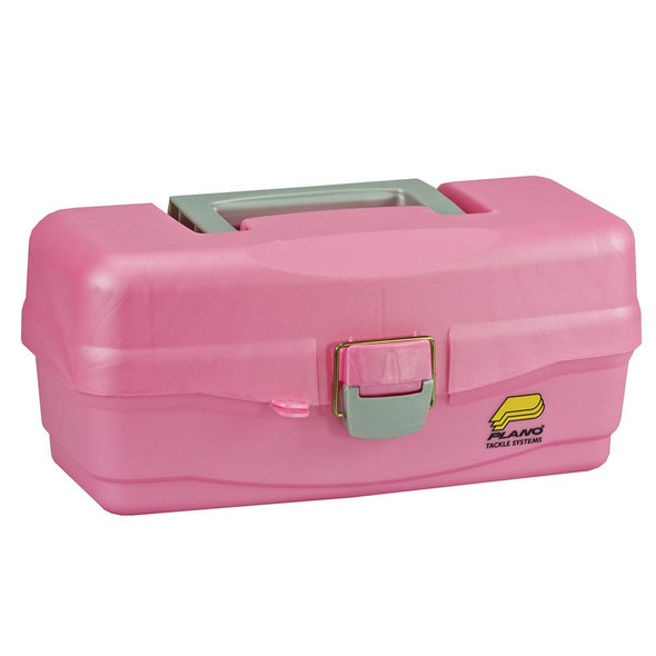 Plano Youth Tackle Box w/Lift Out Tray - Pink