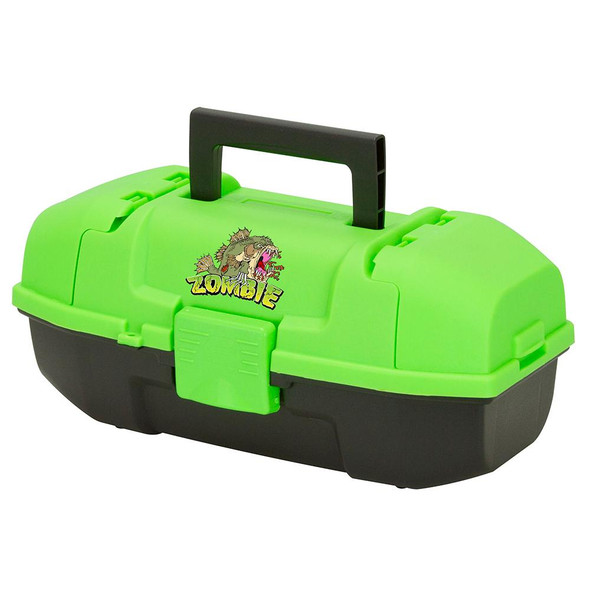 Plano Youth Zombie Tackle Box - Green/Black
