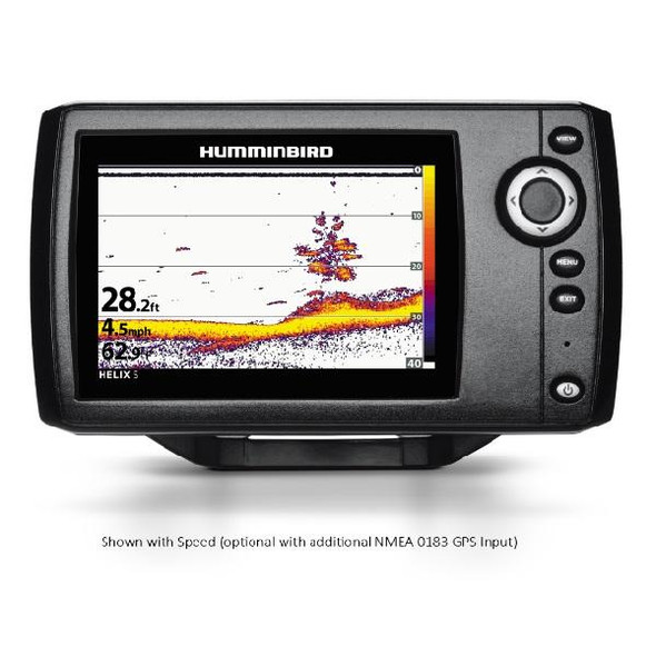 "Humminbird HELIX5 Sonar 5"""" Wvga Color Fishfinder G2"
