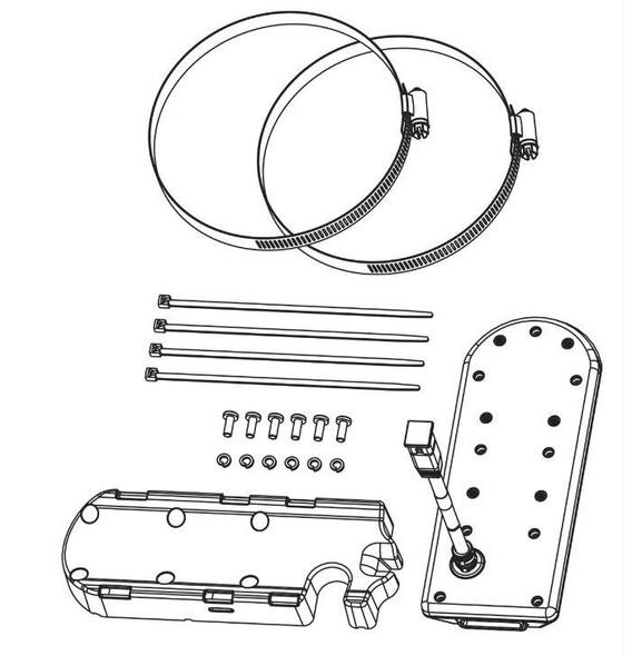 Humminbird XTM-9-20-MSI-T Meg Transducer W/Temp