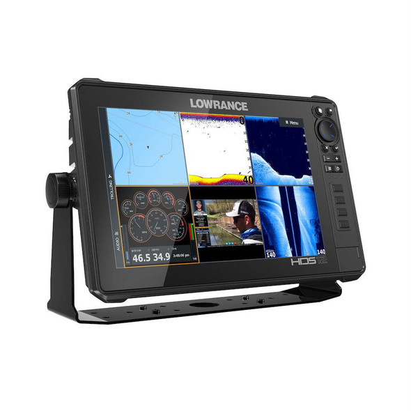 Lowrance HDS12 Live MFD With 3-In-1 Transducer