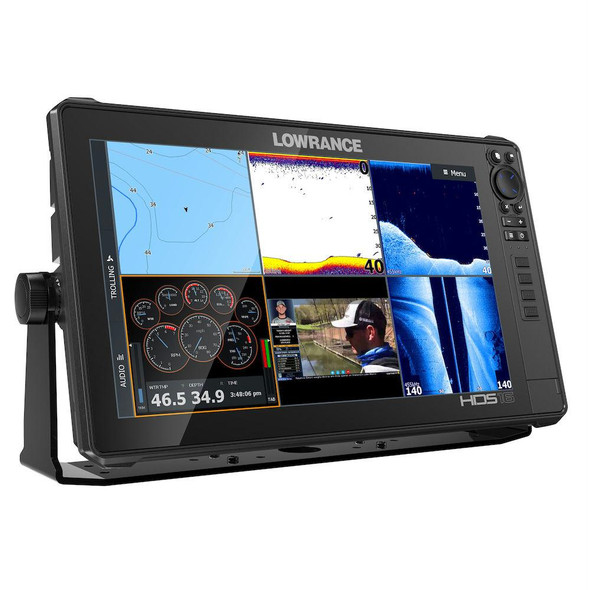 Lowrance HDS16 Live MFD With 3-In-1 Transducer