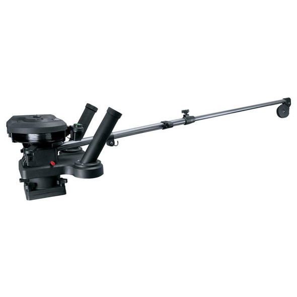 "Scotty 1116 Propack 60"" Telescoping Electric Downrigger w/ Dual Rod Holders and Swivel Base - 34293"