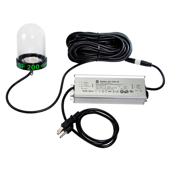 Hydro Glow LED Underwater Dock Light - 200W - 50' Cord - Green
