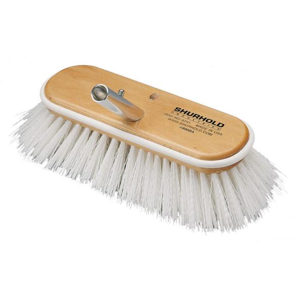 "Shurhold 10"" Polypropylene Stiff Bristle Deck Brush - 32927"