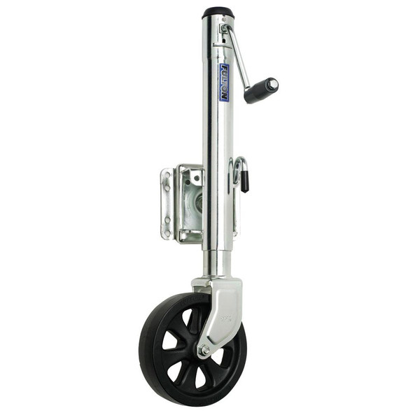 Fulton Single Wheel 1,500 lbs. Bolt-Thru Swivel Jack - 34915
