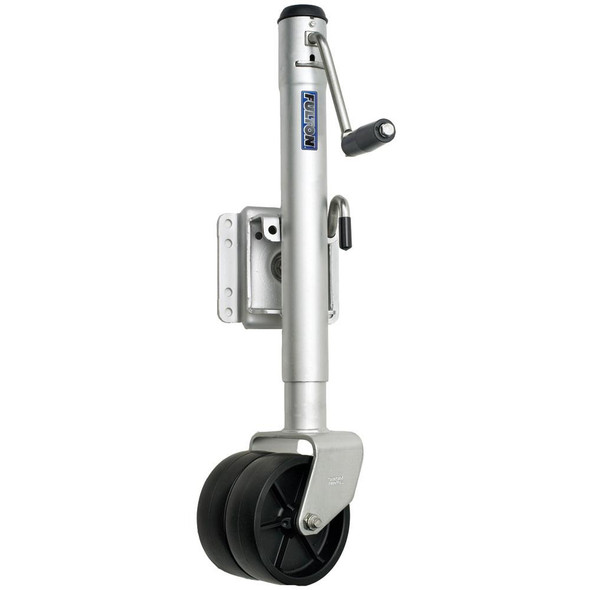 Fulton Dual Wheel 1,500 lbs. Bolt-Thru Swivel Jack - 34918