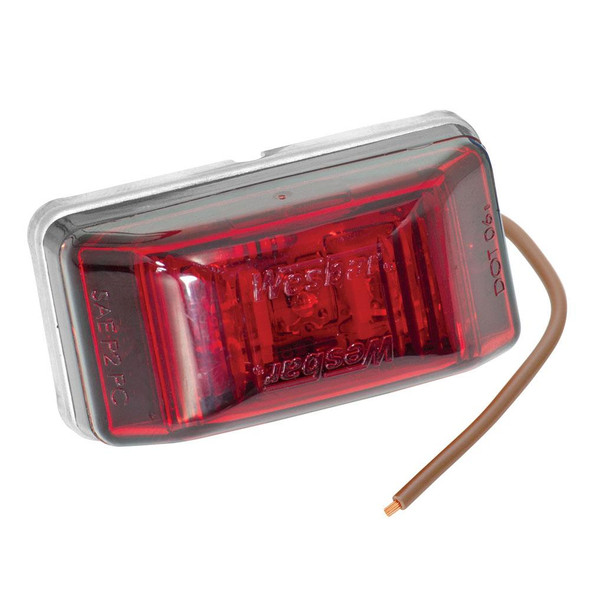Wesbar LED Clearance-Side Marker Light #99 Series - Red - 34997