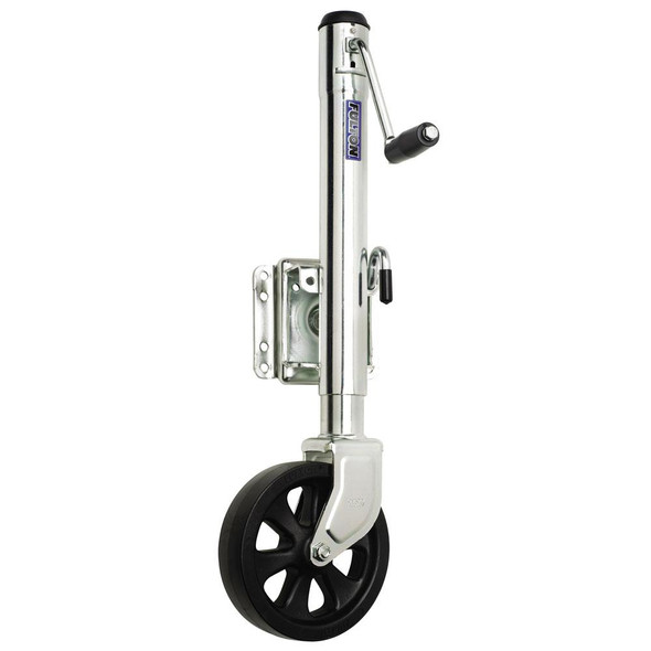 Fulton 1500 lbs. Swing Away Bolt on Single Wheel Jack - 38572