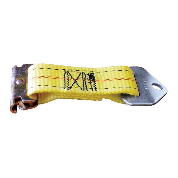 "CargoBuckle E-Track Adapter Strap - 7"" Pair - 40787"