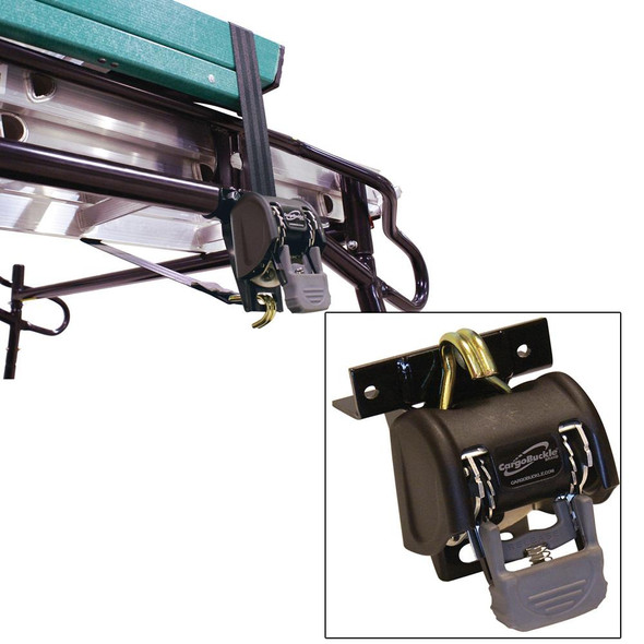 "CargoBuckle Ladder Rack System - 1.25"" Square 7' Pair - 40790"