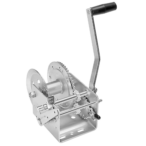 Fulton 2600lb 2-Speed Winch w/Hand Brake - 64441