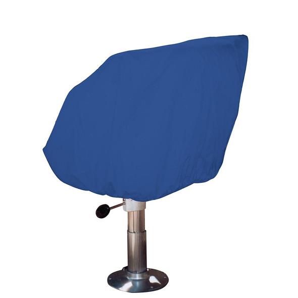 Taylor Made Helm/Bucket/Fixed Back Boat Seat Cover - Rip/Stop Polyester Navy - 65043
