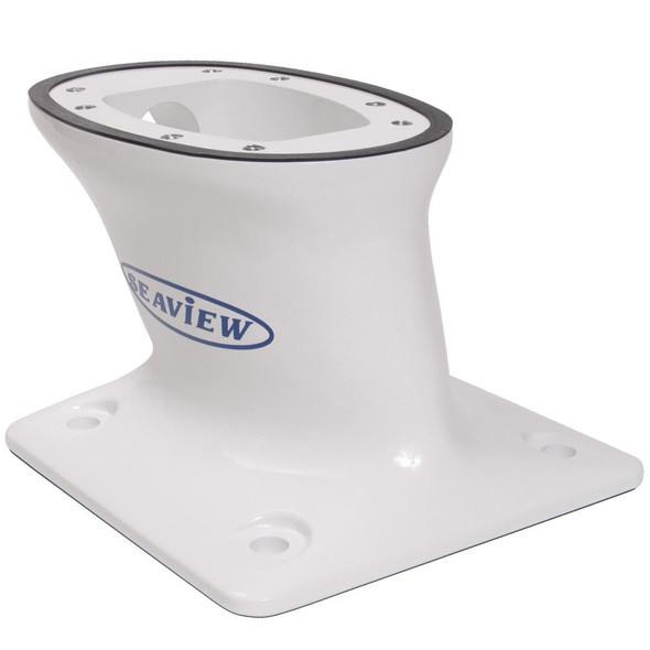 """Seaview 5"""" Modular Mount AFT Raked 7 x 7 Base Plate  - Top Plate Required"""