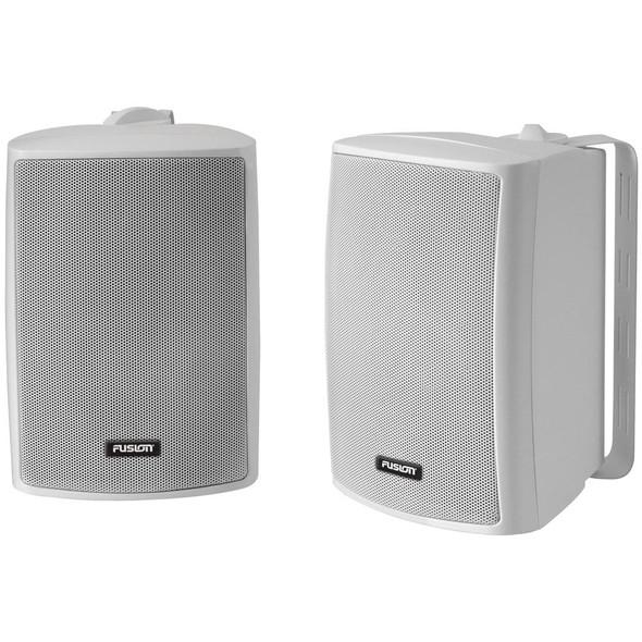 "FUSION 4"" Compact Marine Box Speaker - (Pair) White"