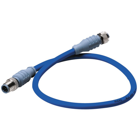 Maretron Mid Double-Ended Cordset - 4 Meter - Blue