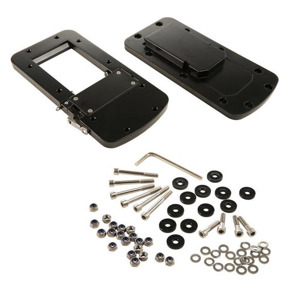 Motorguide Quick Release Bracket - Aluminum Black - 56488