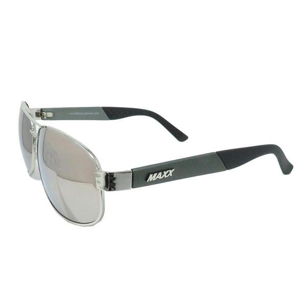 Maxx Sunglasses Maxx 15 Silver Frame TR90 HD Lenses