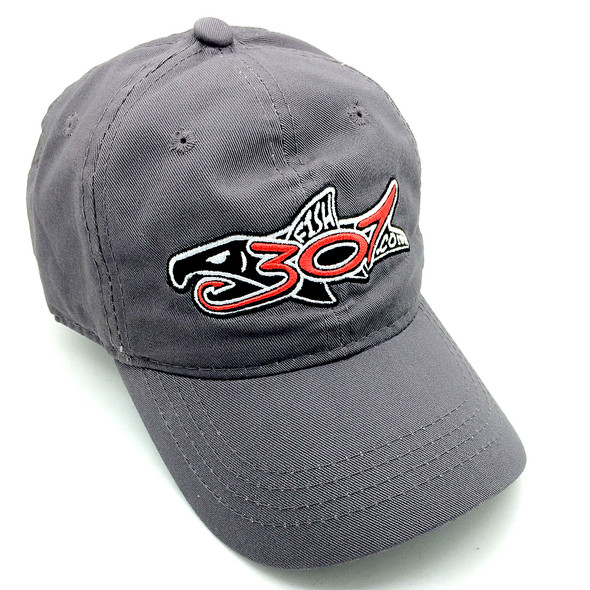 FISH307.com Embroidered Logo Cap