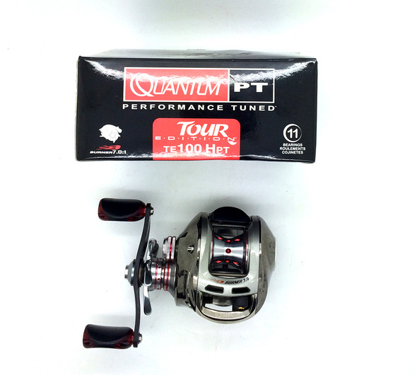 pre owned - Quantum ts100Hpt Reel  in box