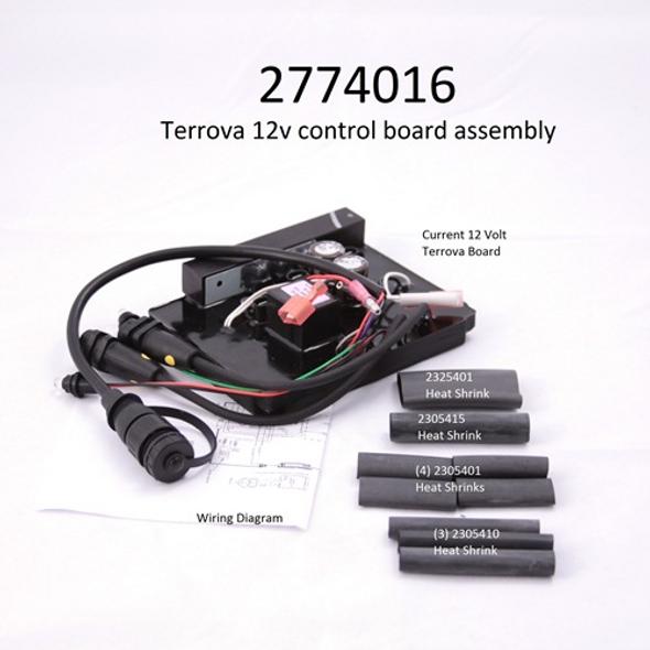 Minn Kota Trolling Motor Part - Control Board 12v TERROVA with heat shrinks - 2774016