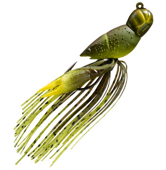 "Live Target Hollow Body Crawfish 1-3/4""  Green Chartreuse"