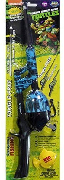 Teenage Mutant Ninja Turtles Telescopic Rod Combo - Blue (TMNTSNTT15B)
