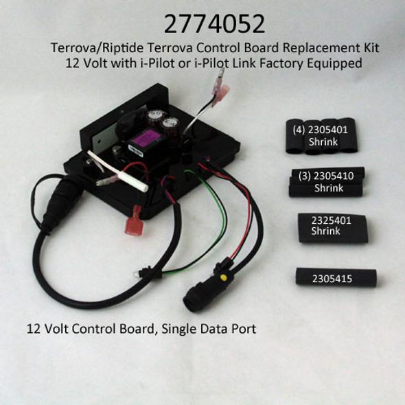 Minn Kota Trolling Motor Part - CTRL BRD,12V TERROVA,w/SHRINKS -2324022 (NEW 2774052)