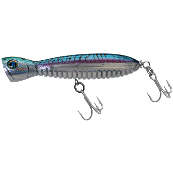 "A Band of Anglers OCEAN BORN™ FLYING POPPER 5.5"" Green Mackerel"