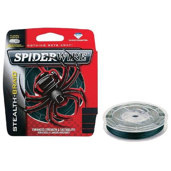 SpiderWire Stealth® Moss Green 125YD
