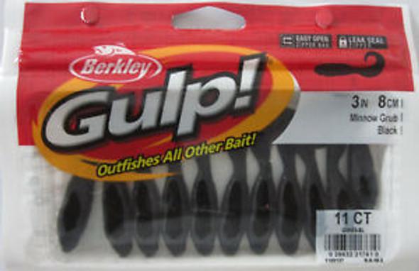 Berkley GMIG3-BL Gulp Min Grub